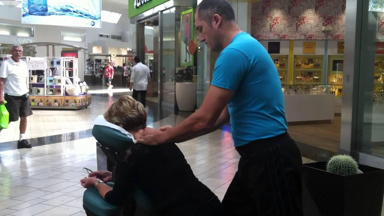 Chair Massage Alejandro  YouTube