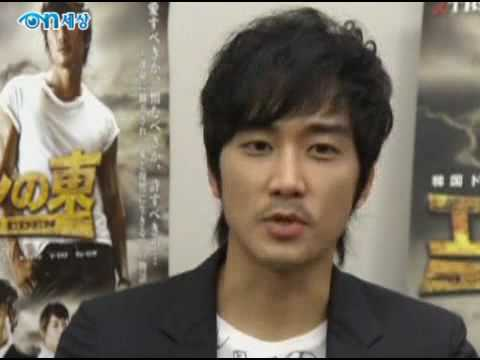 Song Seung Heon in Japan 17-18.7.2009