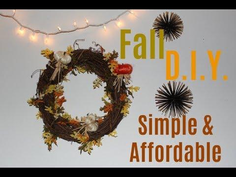 DIY Fall Room Decor | Cute & Cheap Decor Ideas!