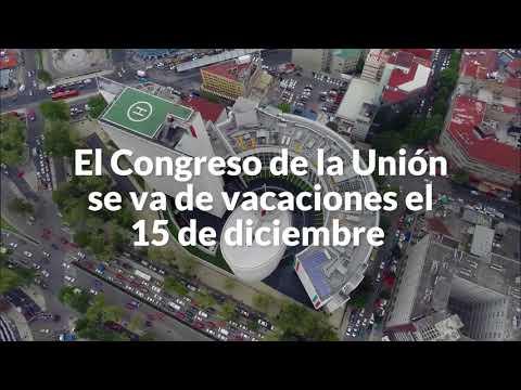 Senadores tienen a México con decenas de pendientes más. Pero se dan puente de 5 días