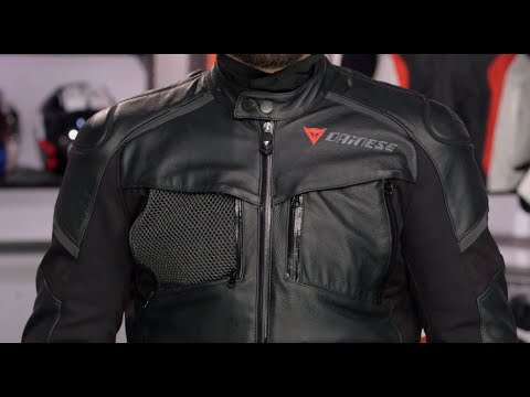 Dainese Cruiser D Dry Jacket Review At Revzilla Com Youtube