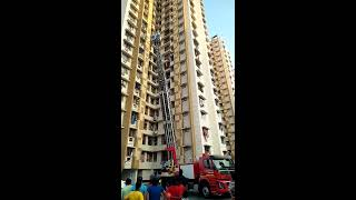Rescue Operation Trial from a high rise building in Dombivali Thane