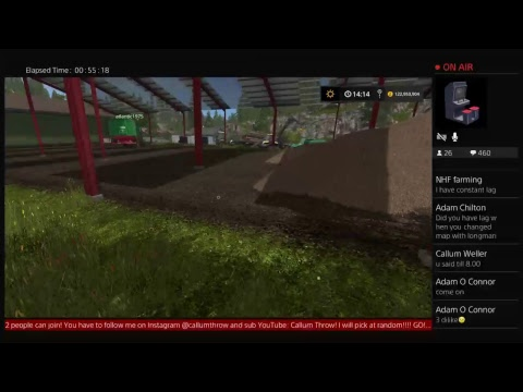 Friday Night Forestry Live | Harvest Helpers Needed| PS4 Livestream #2