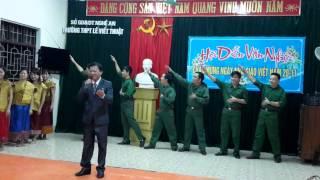 Cô gái sầm nưa xinh đẹp - Tổ Vật lý - Trường THPT Lê Viết Thuật - TP Vinh - Nghệ An