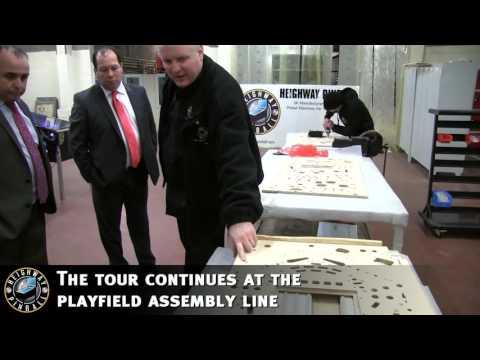 MP Gerald Jones Officially Opens Heighway Pinball