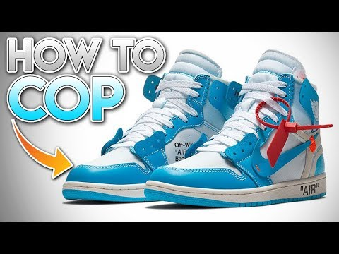 "*RETAIL* How To Cop The Off-White x Air Jordan 1 Retro High ""UNC"" (INTERNATIONALLY) & Resell Price!"