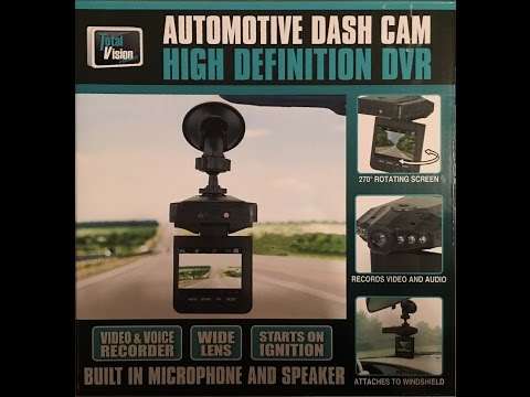 Total Vision HD Dash Cam Review