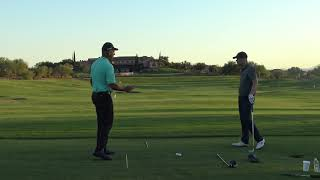 """MALASKA MOVE IN DEPTH! Golf swing """"Tipping"""" the shaft of shallow the shaft"""