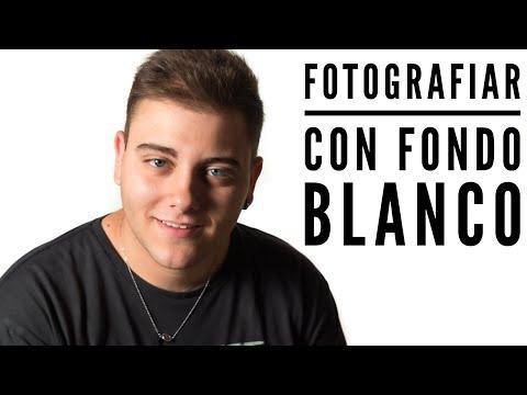 COMO FOTOGRAFÍAR MODELO CON FONDO BLANCO