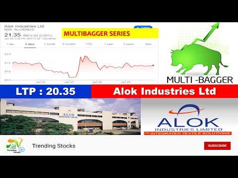 Alok Industries latest news - Textile manufacturing | Alok Industries share news | Mutibagger stocks