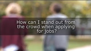Palgrave Study Skills - How can I stand out from the crowd when applying for jobs