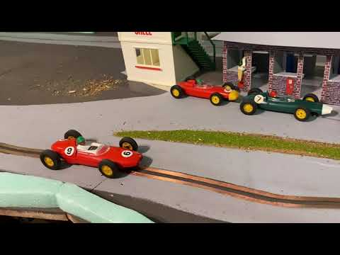 SCALEXTRIC'S EARLY F1 CARS