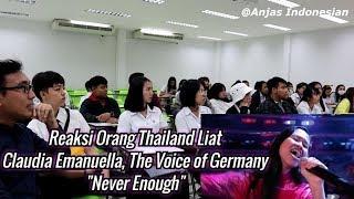 Download lagu ORANG THAILAND REAKSI CLAUDIA EMANUELLA, THE VOICE JERMAN