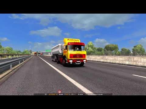 ETS2 Mercedes NG 1632 Pescara - Taranto
