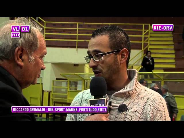Interviste Rieti vs Orvieto