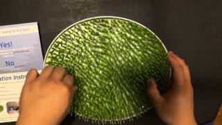 Grass Bottle Drying Rack for Baby Bottles and Baby Dishes by SandiBlu Review and Unboxing
