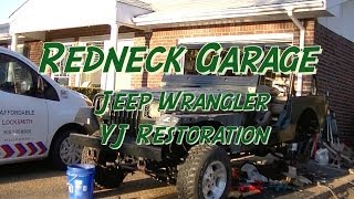 Jeep Wrangler YJ Body Lift / Bushing Replacement - Final (3)
