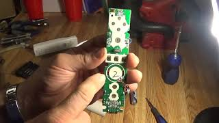 Breaking down a fake Wii controler and an old Nicad Skill circular saw