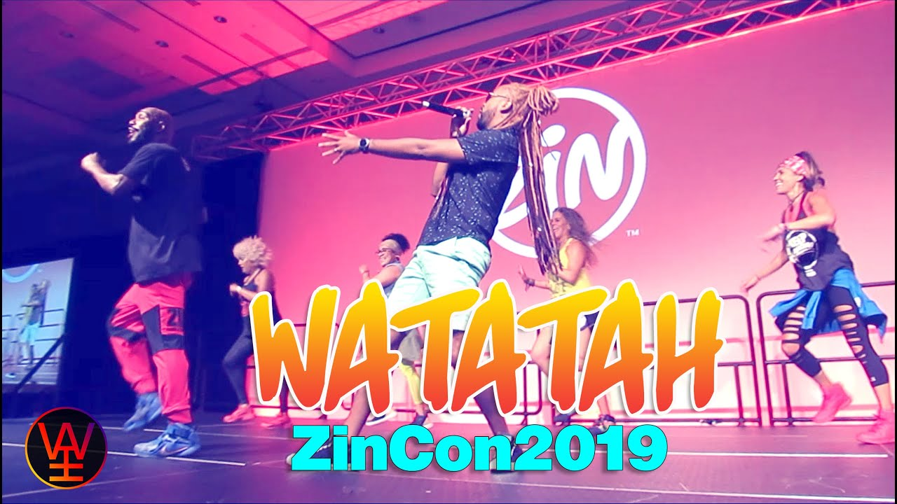 WATCH: Watatah in action at the Zumba Convention 2019!