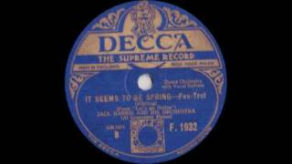 Jack Harris and his Orchestra - It seems to be Spring (1930) Video