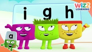 Phonics - How t๐ Pronounce 'igh'   Alphablocks   Learn to Read   Wizz Learning