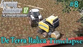 FS17 Timelapse, De Terra Italica #8: Baling Straw!