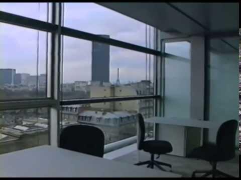 Inauguration de la Fondation Cartier dans le bâtiment de Jean Nouvel au 261 boulevard Raspail - 1994