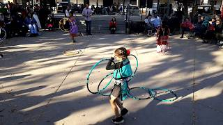 Indigenous Peoples Day Celebration 2017 Lightning Boy Hoop Dancers Clip 2