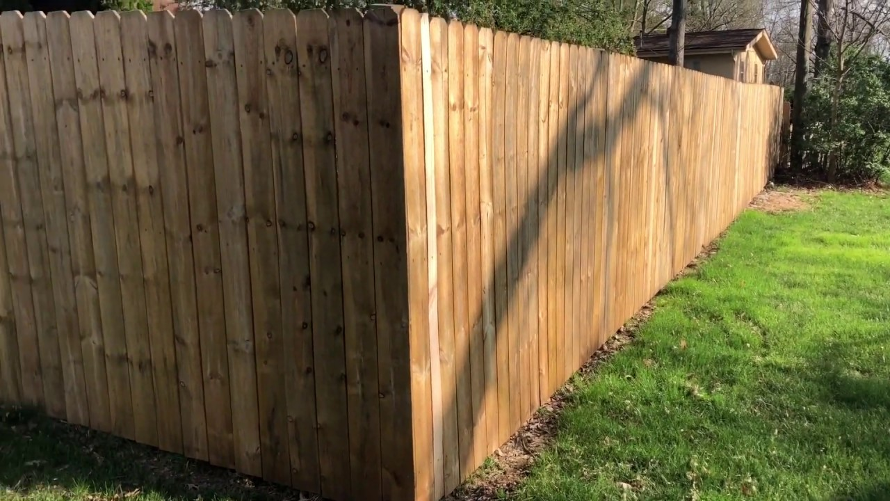 Cost To Put Up A Backyard Fence