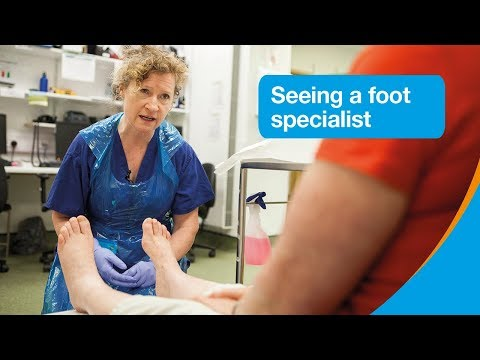 What To Expect At The Foot Clinic | Diabetes Foot Problems | Diabetes UK