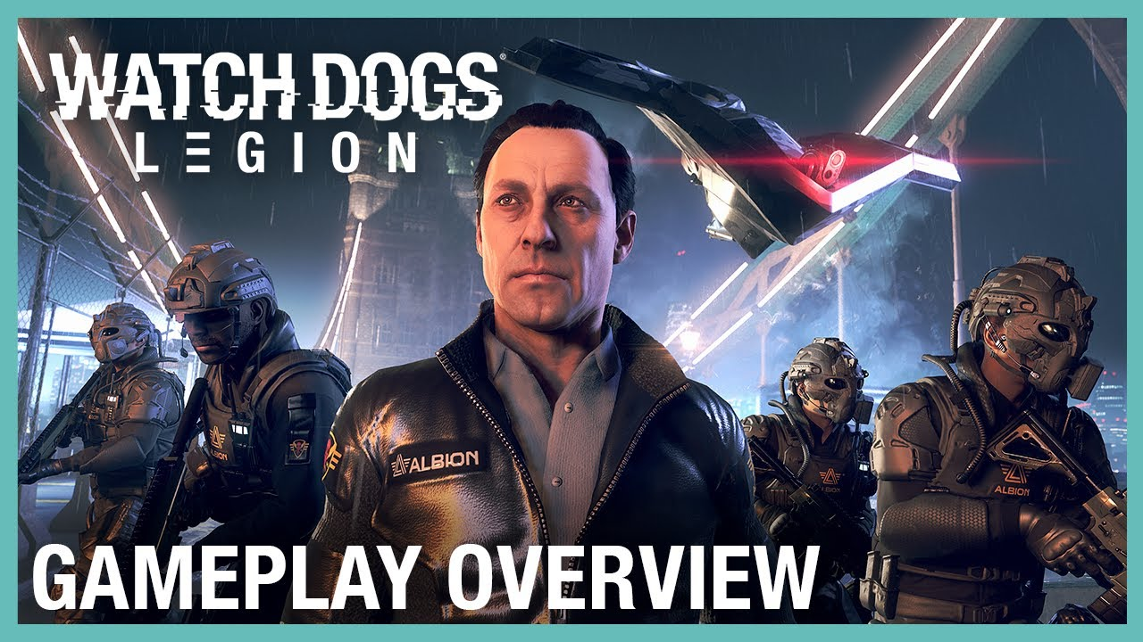 Watch Dogs: Legion: Gameplay Overview Trailer | UbiFWD July 2020 | Ubisoft NA