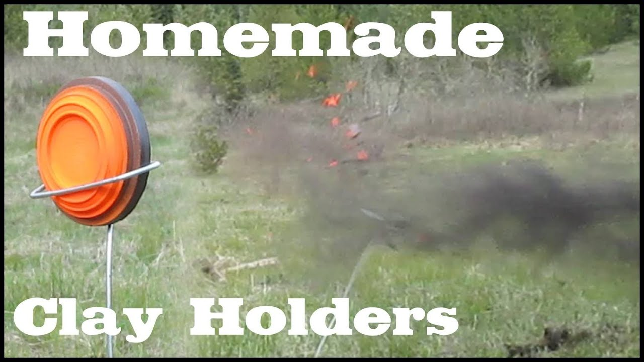 Dirt Cheap Homemade Wire Clay Holders Other Targets Youtube