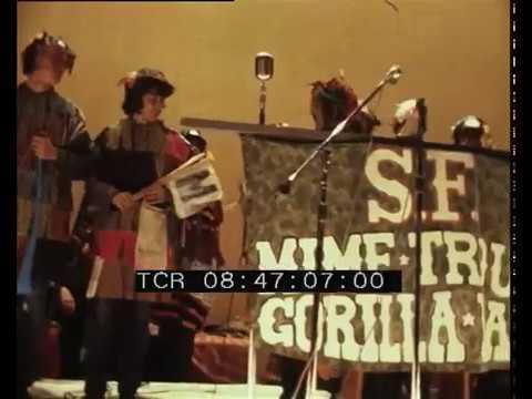 San Francisco Mime Troupe Gorilla Band e Lawrence Ferlinghetti
