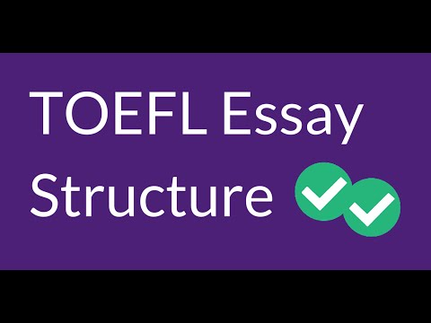 How to Structure Your TOEFL Essay 2015