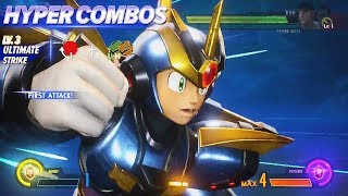 MARVEL VS. CAPCOM: INFINITE - Mega Man X Tutorial