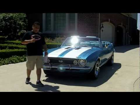 1967 Chevy Camaro Convertible Classic Muscle Car for Sale in MI Vanguard Motor Sales