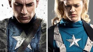Women Re Create Superhero Movie Posters