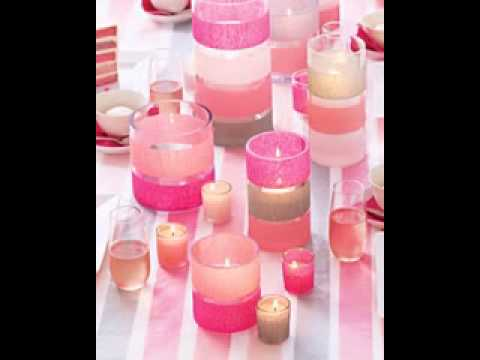 DIY Table Centerpiece Decorating Ideas For Baby Shower