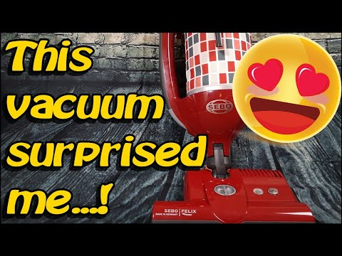 60 Sebo Felix Vacuum Cleaner (hoover)- 3 months use Product test, Demo & Review Update