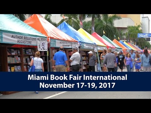Feature Your Book at the 2017 Miami Book Fair International!