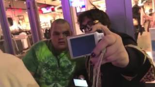 Andy Milonakis Takes a Photo with a Fan
