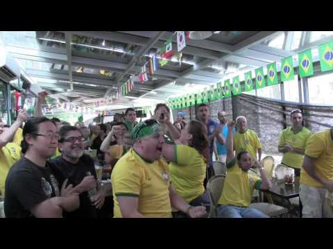 2014 World Cup Brazil vs Chile highlights reaction video