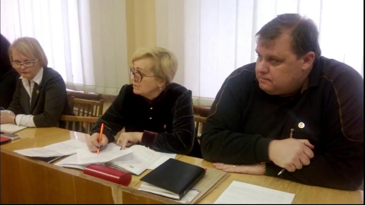 Аппаратное совещание в администрации города Горловка 28.02.2017
