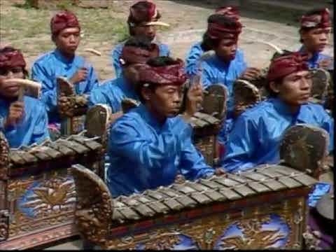 Gamelan recorded in Peliatan Bali Indonesia in 1985