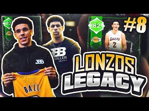LONZOS LEGACY #8 - GAME WINNER?? NBA 2K18 MYTEAM!