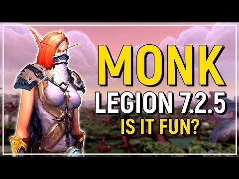 The Monk - Legion Class Review: Worth Playing? [Windwalker, Brewmaster & Mistweaver]