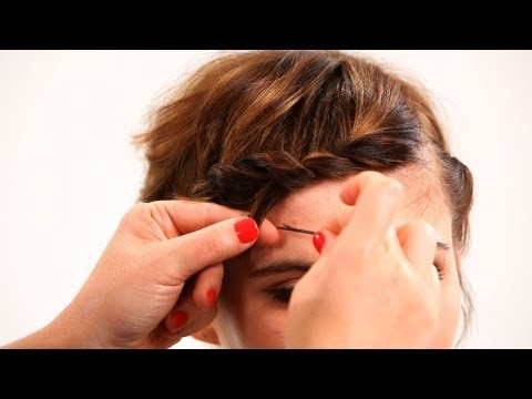 Styling Short Hair w/ Bobby Pins, Pt. 1 | Short Hairstyles