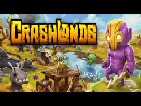Crashlands Ep 13 Back to Maarla tree sprouts and chitin farm