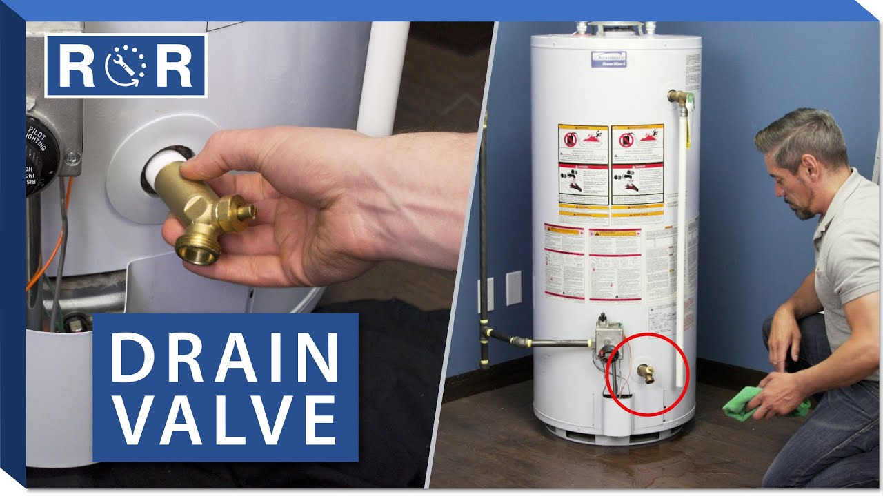 Water Heater Drain Valve Repair And Replace You