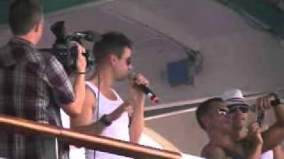 NKOTB Cruise 2011 - Sail Away Party Part 1